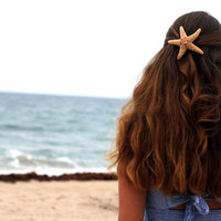 Starfish Hair Barrette-Large