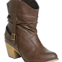 Harness Short Slouch Boot | Shop Shoes at Wet Seal