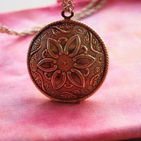 Gypsy Flower Locket