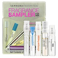 Sephora Favorites Beauty To Go Fragrance Sampler For Her  (0.05 oz)