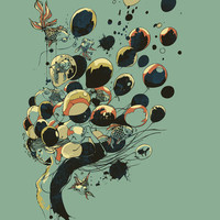 Floating Memories Art Print by Chalermphol Harnchakkham | Society6