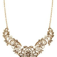 OASAP - Exquisite Elegant Necklace with Embroidered Design - Street Fashion Store
