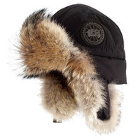 The Aviator's Duck Down Hat - Hammacher Schlemmer