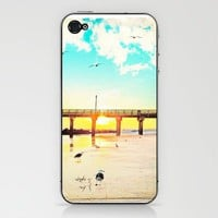 Boardwalk Phone Skin by Mina Georgescu | Society6