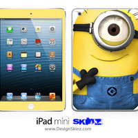 New iPad Mini Skin Despicable Me Minions 7 LONG LASTING Decal