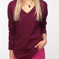 BDG Long-Sleeved Winterlite V-Neck Tee
