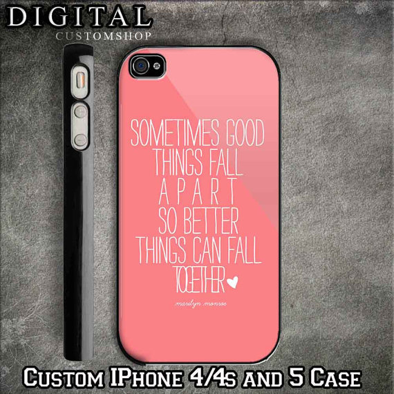 Iphone 5 Cases Marilyn Monroe Quotes Marilyn Monroe Quote c...