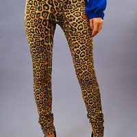 Show Me Your Spots: Leopard Jeggings | Hope's