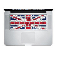 UK flag Keyboard sticker 1 mac decal mac book mac book pro mac book air Ipad