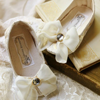 Toddler Shoes-Soft Soled-Arabella-Sizes 5-9 Wedding/Flower Girl