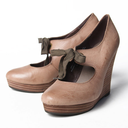 Restricted Teenie laced wedge - $64.99 : ShopRuche.com, Vintage Inspired Clothing, Affordable Clothes, Eco friendly Fashion