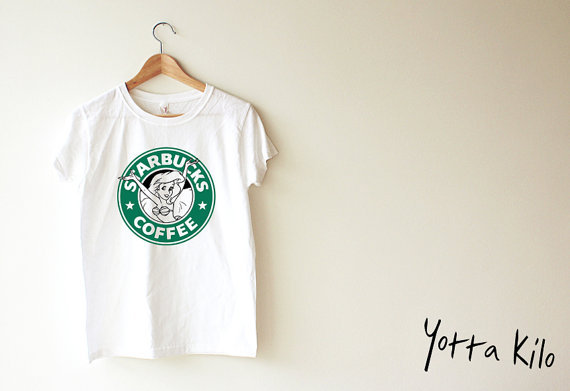 Unisex Tee -Disney The Little Mermaid Starbucks