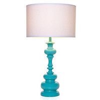 Z Gallerie - Mariposa Table Lamp - Aquamarine