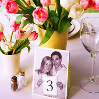 Inspiration Friday: Alternative Table numbers | The Boho Wedding Blog - StumbleUpon