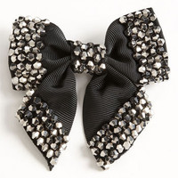 Cara Accessories 'Sparkle Bow' Pin | Nordstrom