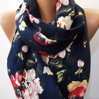 Infinity Scarf Loop Scarf Circle Scarf  Elegant   It made with good quality cotton fabric.