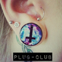 Galaxy Inverted Cross Plugs by Plug-Club