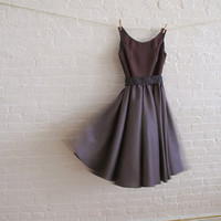 purple haze tea dress by sohomode on Etsy