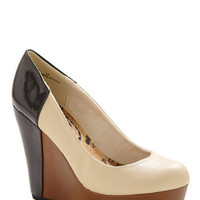 Marvelous Macchiato Wedge | Mod Retro Vintage Wedges | ModCloth.com