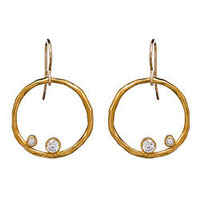 Zina Kao Exclusives Refined Hoop Earrings - Max and Chloe