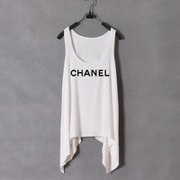 Chanel-the White Tank