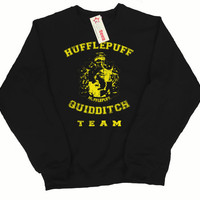 Hufflepuff Quidditch Team Pullover Sweater, In any color
