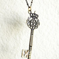 Key To The Throne Bronze Necklace | By Kaida
