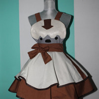 Appa Avatar the Last Airbender Cosplay Apron Pinafore
