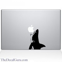 Jaws Shark Macbook Decal | Macbook Vinyl Decals | The Decal Guru