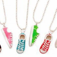 Sneaker Necklace - Girlzlyfe.Com