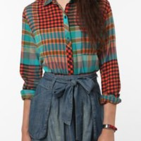 BDG Flannel Boyfriend Shirt