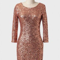 northern lights sequined dress at ShopRuche.com