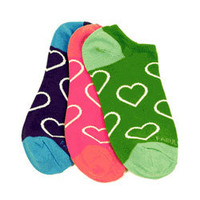 Little MissMatched No Show Socks 3 pack #802