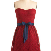 Raspberry Compote Dress | Mod Retro Vintage Dresses | ModCloth.com