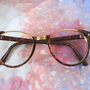 Too Chic For Geek Tortoise Cat Eye Frames Glasses Eyeglasses Vintage 80s Preppy