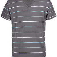 BKE Cobble V-Neck T-Shirt - Men's Shirts/Tops | Buckle