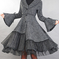 Elengant wollen winter coat by xiaolizi on Etsy