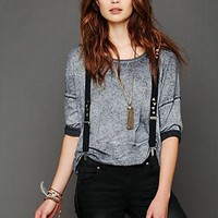 Free People Row Studded Suspender
