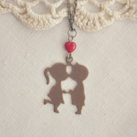 playground love necklace by bellehibou on Etsy