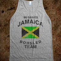 Jamaica Bobsled Team (Vintage Tank) - Fun Shirts