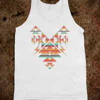 The Aztec Heart (Tank) - Summer Of Fun