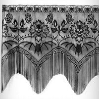 Gothic Gala Lace Window Valence | PLASTICLAND