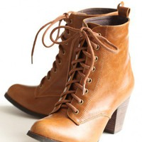 detour lace-up boots by Chelsea Crew at ShopRuche.com