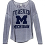 University of Michigan Long-sleeve Drapey Tee