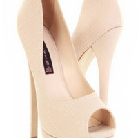 Bone Leather Reptile Textured Print Peep Toe Platform Heels @ Amiclubwear Heel Shoes online store sales:Stiletto Heel Shoes,High Heel Pumps,Womens High Heel Shoes,Prom Shoes,Summer Shoes,Spring Shoes,Spool Heel,Womens Dress Shoes,Prom Heels,Prom Pumps,Hig