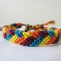 Braided Friendship Bracelet - Bright and Colorful