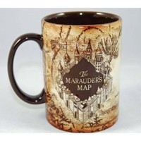 Amazon.com: Wizarding World of Harry Potter Marauder's Map Ceramic Mug: Everything Else