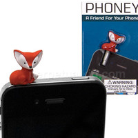 FOX PHONEY PHONE CHARM