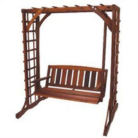 Great American Woodies Cedar Arbor Set | Wayfair