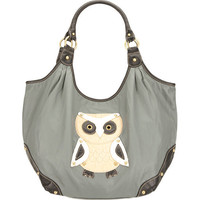 Owl Washed Handbag